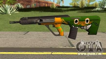 AUG A3 PUBG Edition: Rainforest pour GTA San Andreas