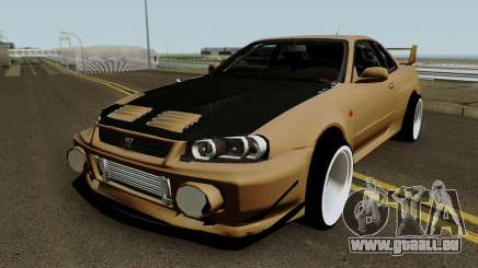 Deuces Nissan Skyline Evolution GT-R 34 pour GTA San Andreas