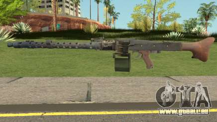 MG-34 Bad Company 2 Vietnam pour GTA San Andreas