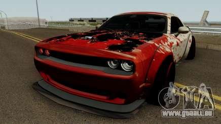 Dodge Hellcat Blood pour GTA San Andreas