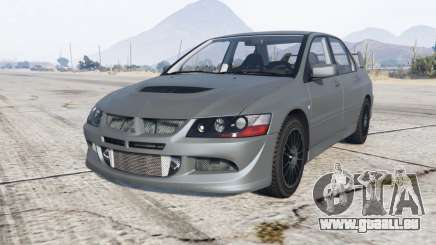 Mitsubishi Lancer Evolution VIII MR 2004 für GTA 5