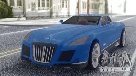 Maybach Exelero Coupe pour GTA San Andreas