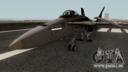 FA-18C Hornet VFA-25 AA-400 pour GTA San Andreas