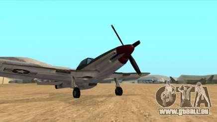 Rustler - P51 Mustang für GTA San Andreas