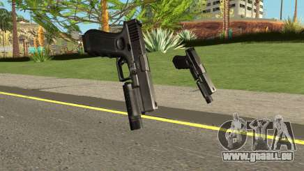 Cry of Fear - Glock 19 With Flashlight pour GTA San Andreas