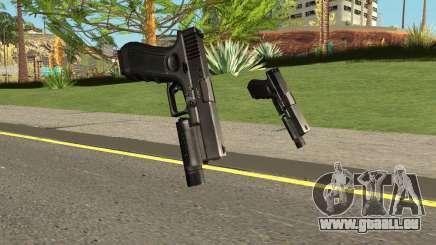 Cry of Fear - Glock 19 With Flashlight für GTA San Andreas