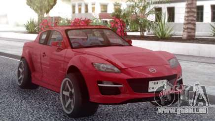 Mazda RX-8 FE3S pour GTA San Andreas