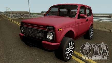 Niva Urban Azelow 2121 pour GTA San Andreas