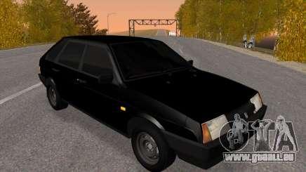 2109 Noir teinté pour GTA San Andreas