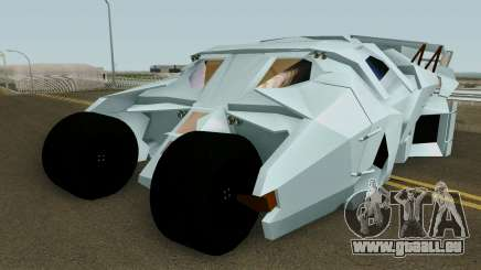 BatMobile HQ pour GTA San Andreas