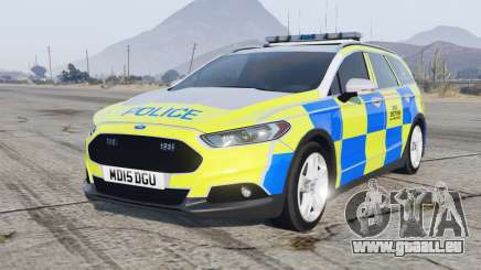 Ford Mondeo Estate 2014 Police Dog Section für GTA 5