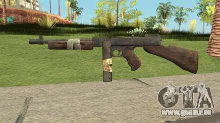 Bad Company 2 Vietnam Thompson M1928 pour GTA San Andreas
