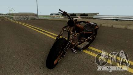 Western Motorcycle Rat Bike GTA V für GTA San Andreas