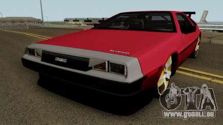 DMC DeLorean 12 Tuning V.1 für GTA San Andreas