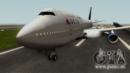 Delta Air Lines Boeing 747-400 pour GTA San Andreas