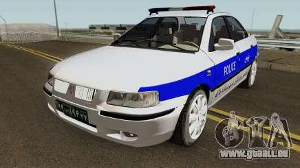 IKCO Samand Police LX-v2 pour GTA San Andreas