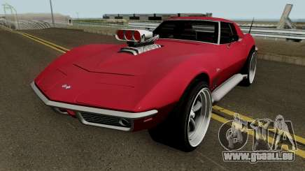 Chevrolet Corvette C3 Stingray HQ pour GTA San Andreas