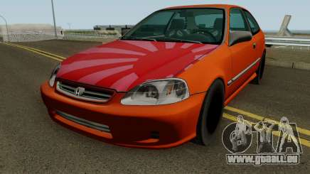 Honda Civic EK9 Low Poly pour GTA San Andreas
