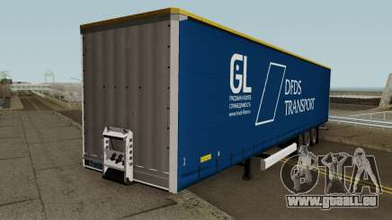DFDS Transport Trailer pour GTA San Andreas