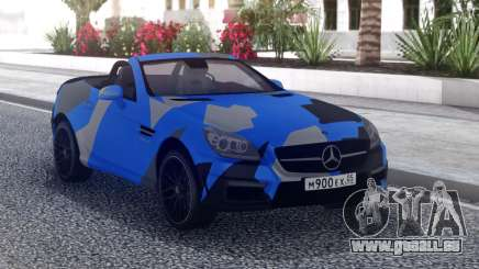 Mercedes-Benz SLK 55 AMG Cabriolet pour GTA San Andreas