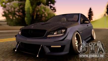 Mercedes-Benz C63 Street pour GTA San Andreas