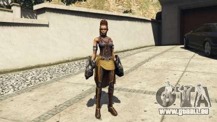 Shuri (Black Panther) für GTA 5