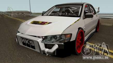 Mitsubishi Evo (DRIFT TUNING) für GTA San Andreas