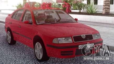 Skoda Octavia Red pour GTA San Andreas