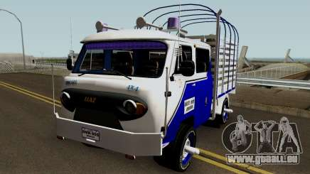 UAZ Fermer Colombiana pour GTA San Andreas