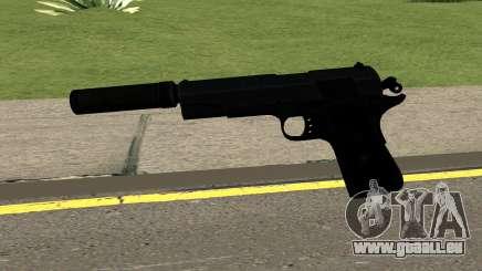 New Silenced Pistol HQ pour GTA San Andreas