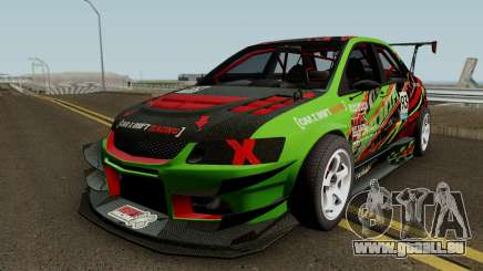 Mitsubishi Lancer Evolution IX OZ Drift V2 2006 für GTA San Andreas