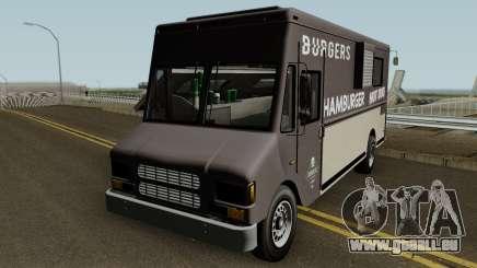 Brute Burger Van GTA V IVF pour GTA San Andreas