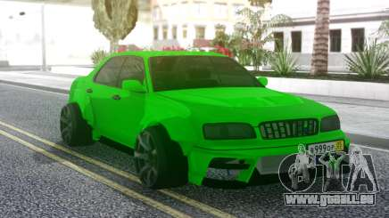 Nissan Cedric WideBody Green pour GTA San Andreas