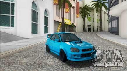 Subaru Impreza WRX STI 2003 LPcars pour GTA San Andreas