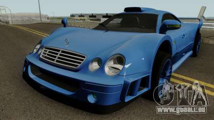 Mercedes Benz CLK GTR (C208) 1998 für GTA San Andreas