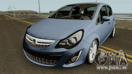 Opel (Vauxhall) Corsa D Phase 2 V1 pour GTA San Andreas
