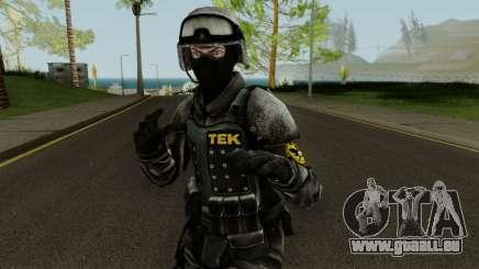 TEK Skin 3 pour GTA San Andreas