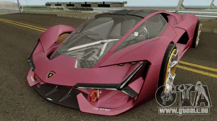 Lamborghini Terzo Millennio 2017 für GTA San Andreas
