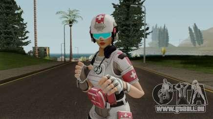 Fortnite Field Surgeon Female für GTA San Andreas