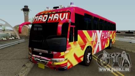 MADHAVI MOTORS KERALA BUS pour GTA San Andreas