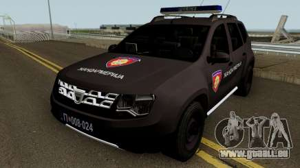 Dacia Duster Zandarmerija für GTA San Andreas