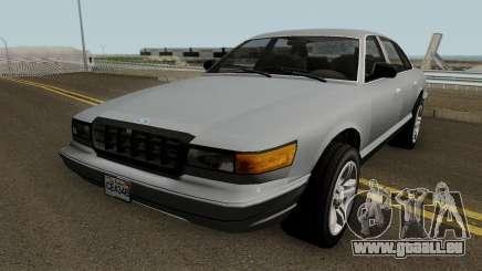 Ford Crown Victoria 1992 (Stanier Style) für GTA San Andreas