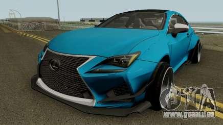 Lexus RC-F für GTA San Andreas