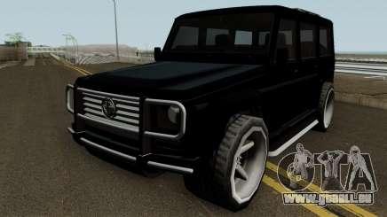 Benefactor Dubsta XS für GTA San Andreas