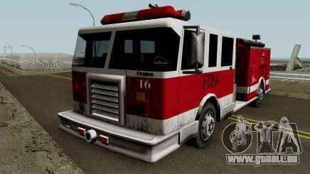 FireTruck IVF für GTA San Andreas