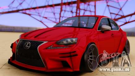 Lexus IS350 für GTA San Andreas
