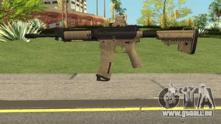 Battle Carnival M4A1 pour GTA San Andreas