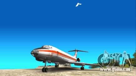 Die Legendären Tu-134 für GTA San Andreas