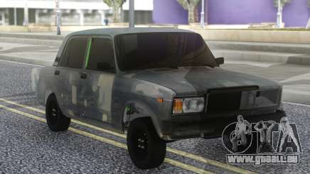 VAZ 2107 Hobo Gris pour GTA San Andreas