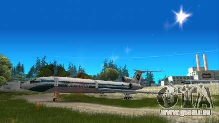 Tu-154 ALROSA légende Izhma pour GTA San Andreas
